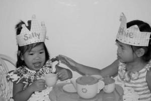 Tea Party, B:W
