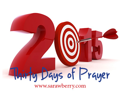 30 Days of Prayer logo, 2015